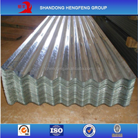 Used Zinc Coated Galvanized Corrugated Building Metal Roofing Sheets