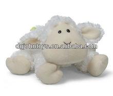 plush toy lamb in stuffed plush animal sheep