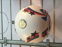 promotional cheap rubber soccer ball / rubber football