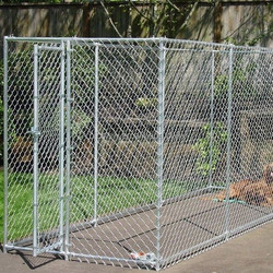 Popular And Fancy Chain Link Dog Kennel Lowes For America,Canada, Australia