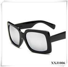Vogue of new fund of 2015 square box mercury reflective sunglasses Joker han edition sunglasses sunglasses