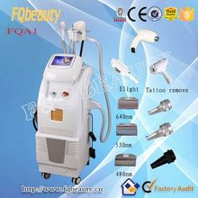 For salon 2015 elight rf laser machine for Body Shaping areas: abdomen, buttocks, thighs, neck, upper arms