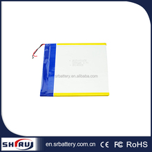 25105105 3200mah 3.7V customized rechargeable li-polymer battery for mobile phone / tablet / pad / GPS