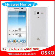 New Arrival Cheap HuaWei Honor 3 Outdoor 3G Phone Android 4.2 4.7 inch IPS, Dual Camera 13.1M, Built-in GPS Dropship Welcome