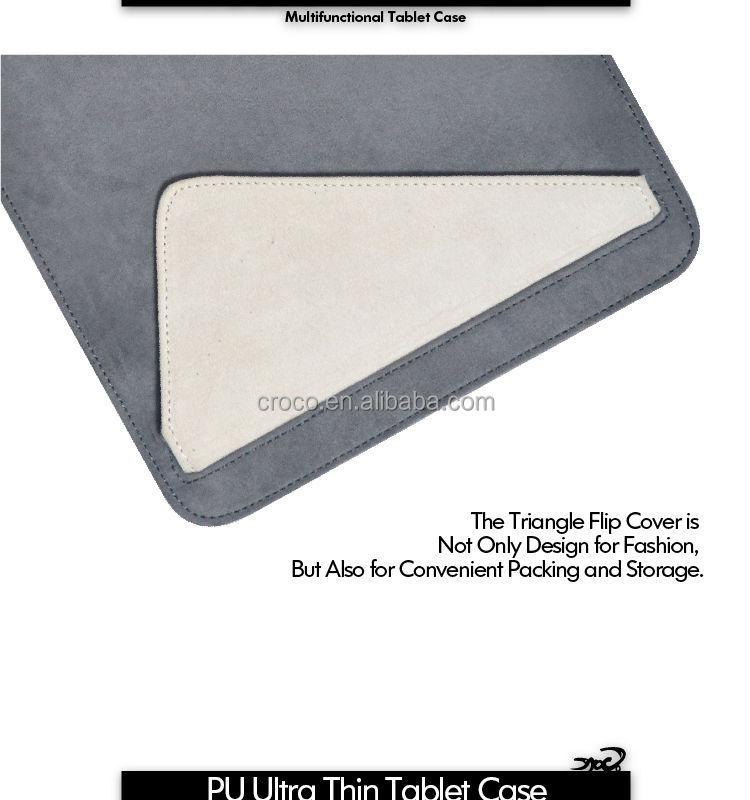 CROCO 2014 microfiber universal tablet sleeve, waterproof sleeve for samsung galaxy tab 10.1