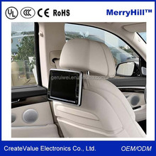 Pillow/ Headrest/ Back Seat 7/ 8/ 9/ 10/ 10.4/ 12/ 15 inch Car Taxi LCD Monitor Video Player