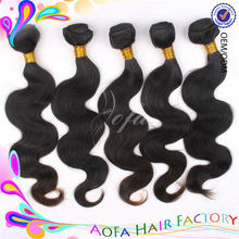 Many style natural color 6a branzilian human hair wig