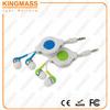 Smart Consumer Electronics Retractable earphones