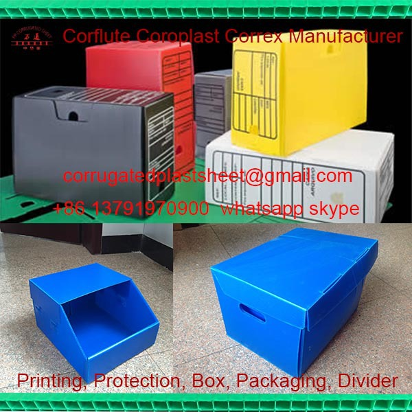 Plastic Coroplast Corflute Danpla Security Box Buy