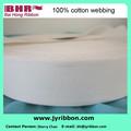 Accessori di abbigliamento 100% cotone nastri in candeggina colore