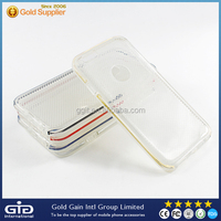 GGIT Transparent TPU PC Grid Case For Apple For iPhone 6