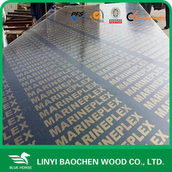 18mm Brown/Black Film Faced Plywood at competitive price from CHINA