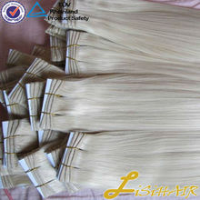 100% Remy Hair with Factory Wholesale Price/Russian Nano Ring Wholesale Hair Extension