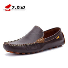 2015 Fashion Designer Men Leather Shoes Soft and Comfortable driving shoes peas shoes