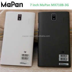 New cheapest electronic 7inch mtk8312 dual core wifi 512MB/4GB tablet, MaPan original 3G tablet pc low cost