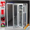 Modificado para requisitos particulares grande sonido calor con aislamiento de aluminio correderas puerta puerta plegable mecanismo