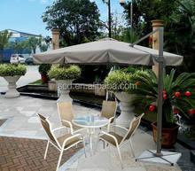 Hot sales cheap durable customizes aluminum hanging outdoor roman umbrella