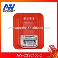 2 Wire Fire Alarm Strobe Light Bell