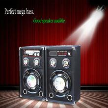 """PA Active Speaker Set 10"""" LED 800W VHF subwoofer speaker"""