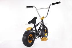 Fat boy mini BMX dirt jump bike with 10inch wheel for sale