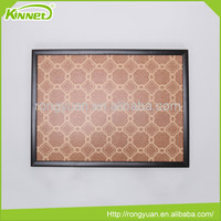 45X60CM Wholesale price pin mdf frame printing wood cork board