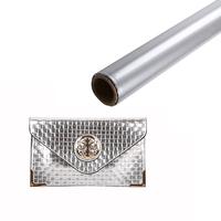 hot stamp foil,plastic thermal transfer film,silver foil printing
