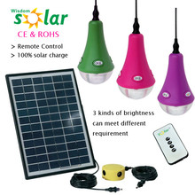 High quality 2014 New Product Unique Design Solar Smart Light with 3W Led Bulb /Indoor Home Smarting Lighitng/Solar Home Lights