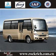 China Manufacture 18 Seat RHD Coaster Luxury Mini Bus For Sale