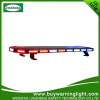 Black aluminum housing led light bar