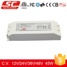 KV-12045-TD 12V 45W constant voltage triac dimmable isolated led driver