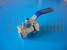 Long handle water brass fitting ball valve