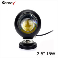 3.5 inch Round 15W COB led work light for offroad driving