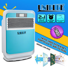 Negative ion funtion remote control household appliances hepa electrostatic air purifier price