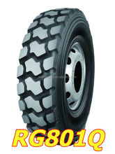 High quality ROOGOO brand Trade Assurance heavy duty truck tyre/tire 13R22.5 suitable for minning