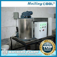 0.5Ton/day Ocean water flake ice plant with ice bin