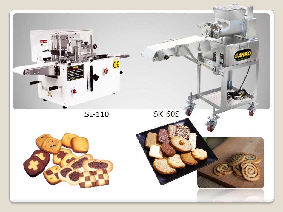 Anko electric chocolate automatic commercial cookie press for Food bar press machine