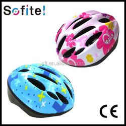2015 hot sell sports bicycle helmet, half face helmet, fancy helmet