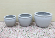 china suppliers for ceramic fish tank , white ceramic round fish tank for sale