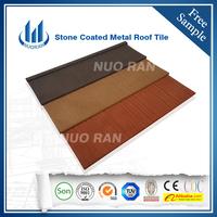 New design economic wood Tile color stone coated steel roofing sheet