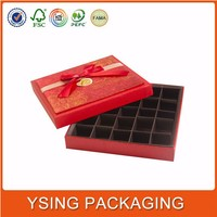 High quality wedding heart shape chocolate packaging box