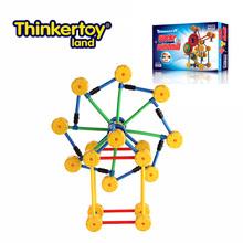 Thinkertoy artesanos universales wacky bloques de molinos de viento curioso rueda cielo juguete molino de viento
