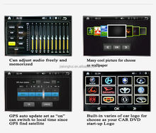 """6.2""""Digital Touch Screen Double Din Car DVD Car Stereo with GPS+Radio+FM/AM+RDS+BT+ Telephone book+AUX IN/OUT+1080P+USB/SD+SWC"""