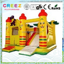 Top quality branded cartoon inflatable bouncers house
