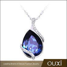 OUXI China supplier 2015 spring trendy jewelry made with Swarovski Elements 10277