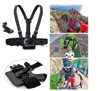 2015 Wholesale High quality Action Camera Accessories Adjustable Elastic Chest Strap Belt