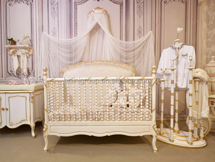 Baby Crib Oversized Bedroom Furniture New Born Baby Bed Product On