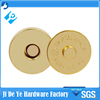 10/14/16/18/20mm hang gold magnet clasp for non woven bag