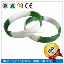 Custom silicone rubber wristband