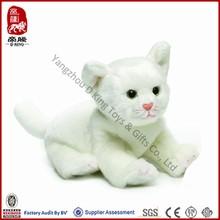 ICTI SEDEX Custom High Quality Plush Stuffed Soft Real Cat