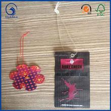 wholesale custom string plastic hang tag for clothing ,handbag, luggage